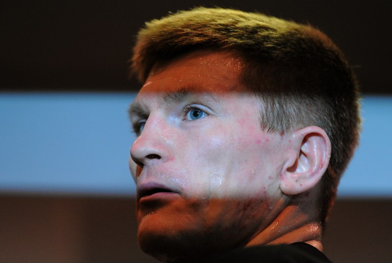 BACK FOR REDEMPTION. British boxer Ricky Hatton fell into depression after his 2009 loss to Manny Pacquiao, but said he has learned from his mistakes and is ready for his comeback. Photo by AFP.