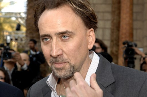 FALSE ALARM. Nicholas Cage will not be in Expendables 3. AFP Photo/Houda Ibrahim
