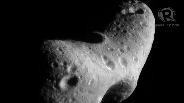 moon asteroid with its own - photo #25