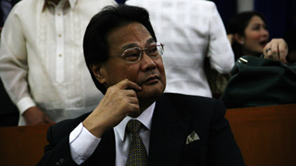 Former CJ Renato C. Corona. Photo by Emil Sarmiento