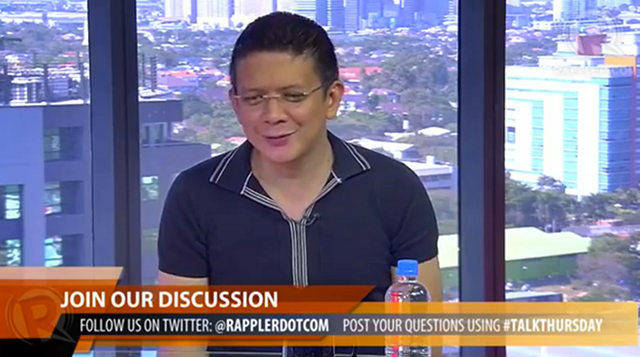 CHANGE. Senator Escudero says becoming president is the fastest way to change the country