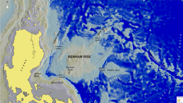 Benham Rise Ph S New Territory Off Aurora