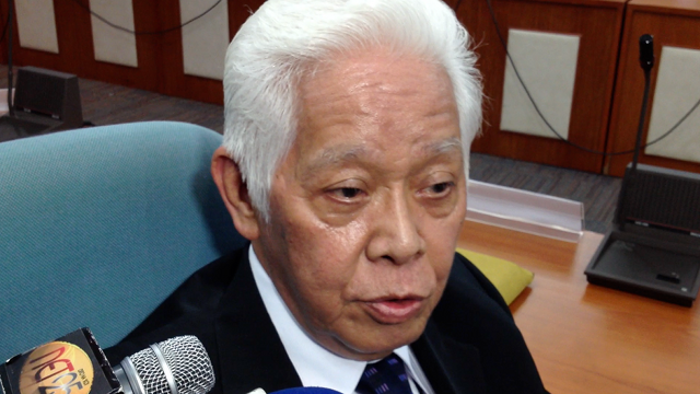 Comelec Chair Sixto Brillantes Jr. File photo.