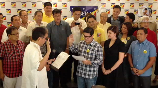 LP GOES SHOWBIZ: Actor Aga Muhlach is the newest member of President Aquino's Liberal Party