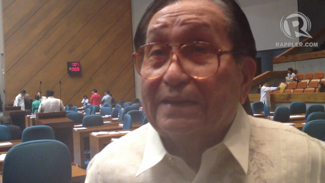 A VOW: Cebu Rep Pablo Garcia vows they will continue to block RH bill