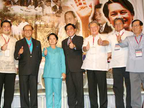 TWO PRESIDENTS: Lakas produced President Fidel Ramos and President Gloria Arroyo (Photo from Congress.gov.ph)
