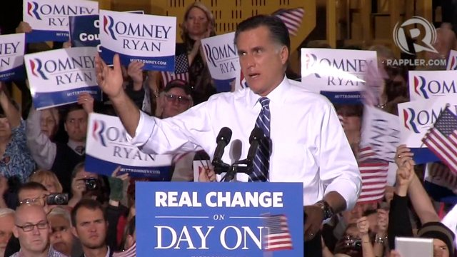 TIGHT RACE: Gov Mitt Romney tells Ohio voters they could decide the U.S. presidential race