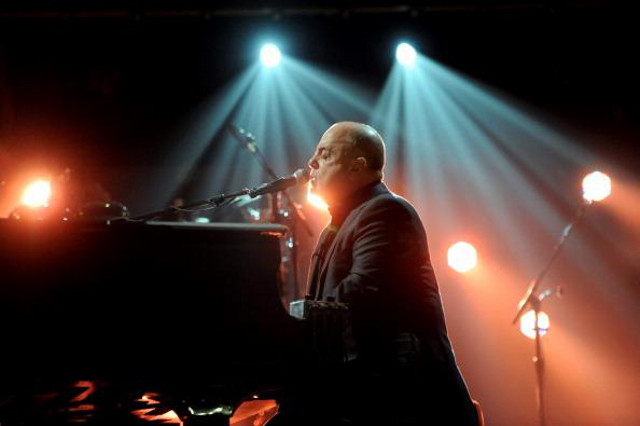 Billy Joel in a photo by Kevin Mazur for Getty