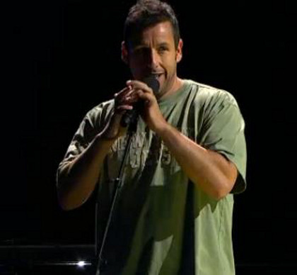 Adam Sandler: 'Sandy screw ya, we'll get through ya, cause we're New Yorkahs!'