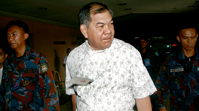 STILL IN JAIL. Despite the court's ruling, retired Maj Gen Carlos Garcia is still in jail due to a case filed against him by the military. File photo by Newsbreak