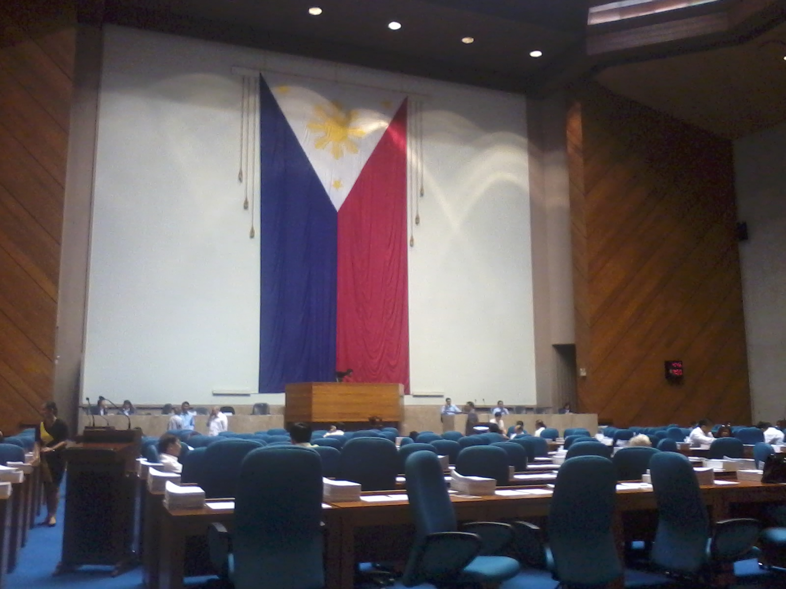 AGENDA. It remains uncertain when the RH bill will be discussed in the Lower House. File photo.