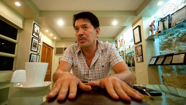 THE ULTRA-REALIST. Brillante Mendoza calls a spade a spade, showing the reality of Filipino life like it is. All photos by Andy Maluche