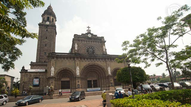 The Manila Cathedral in Intramuros