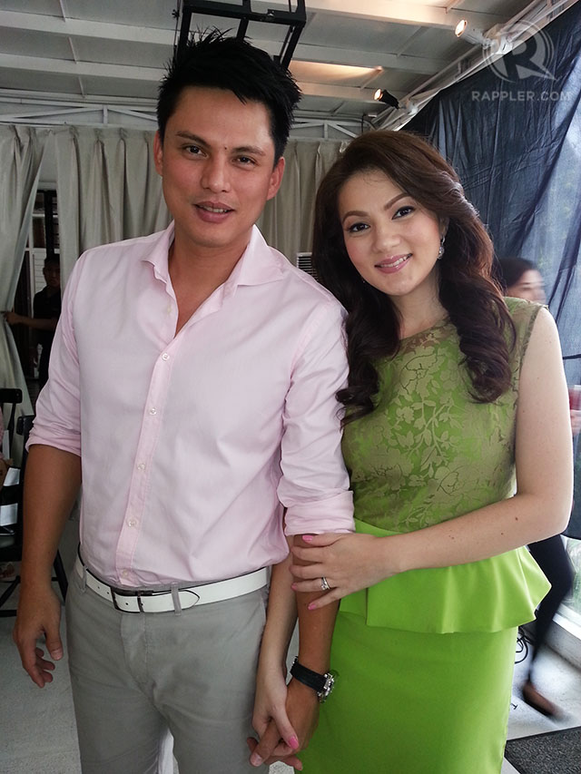 JUST MARRIED. Zoren Legazpi and Carmina Villaroel at the thanksgiving lunch they threw for their media friends on November 20. Photo by Rappler