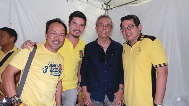 Jim Paredes Tweets Candidate Choices