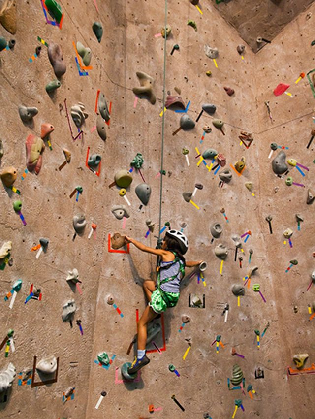 Rock climbing is a must try heres why
