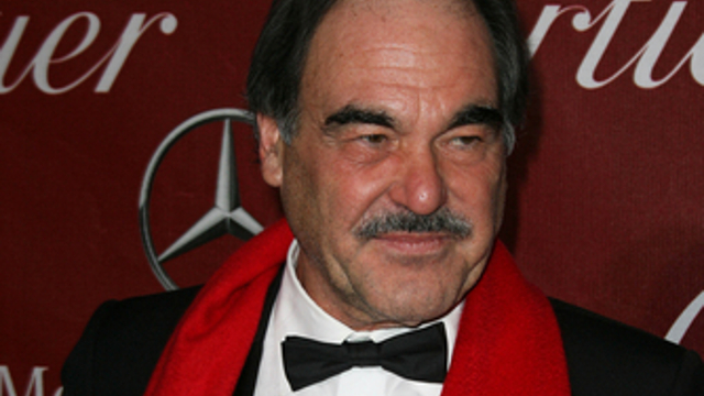OLIVER STONE. The veteran filmmaker pays tribute to the late Hugo Chavez