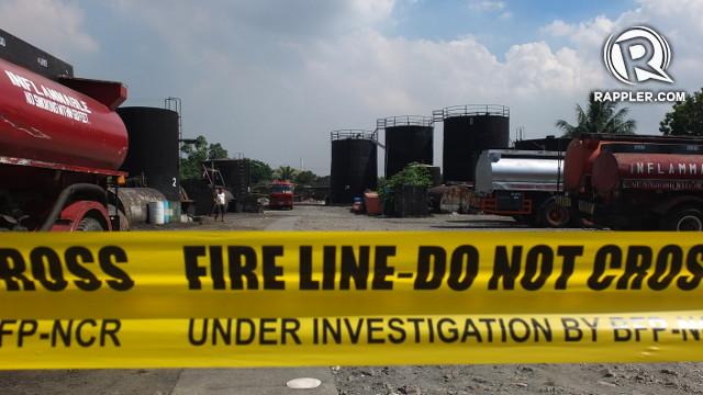 Oil depot violates zoning, sanitary laws