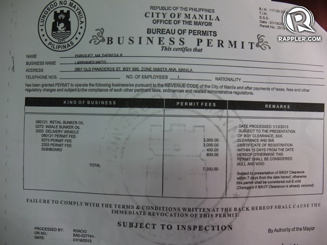 Permits For Business Philippines Business Permit