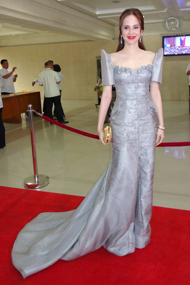 IN PHOTOS SONA2013 Red Carpet