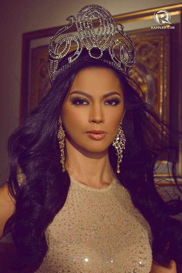 On her way miss universe philippines 2013 ariella arida leaves oct 21