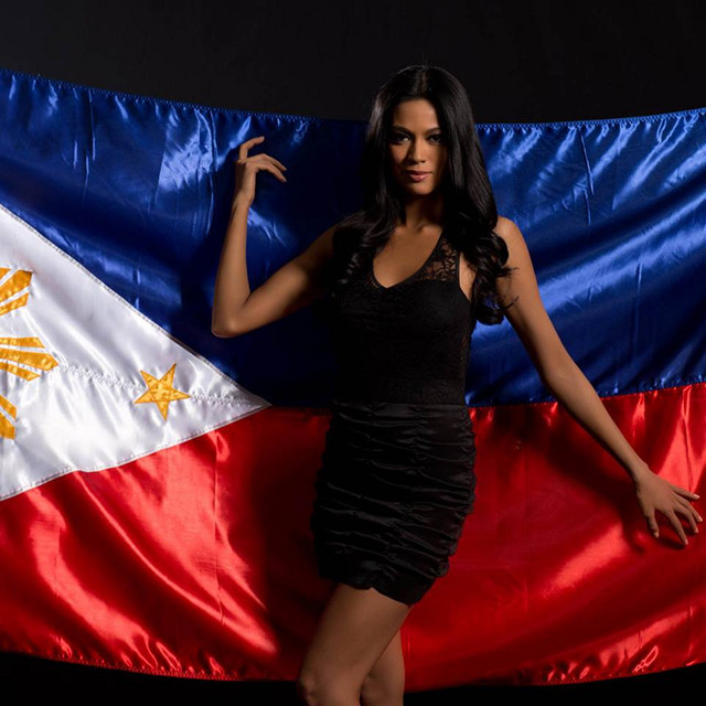 ARA ASKS FOR YOUR VOTE. Ariella Arida's official Countries of the World portrait posted in the Miss Universe website. Photo courtesy of the Miss Universe Organization LP, LLLP