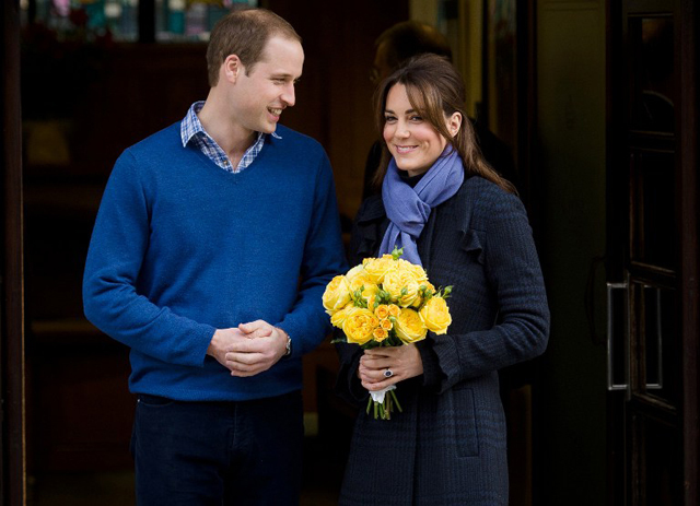 NON-HOLLYWOOD 'CELEBS.' Prince William and Kate Middleton are celebrities in their fans' eyes. Photo from AFP