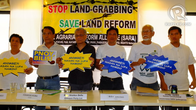 A MATTER OF WILL. Land reform advocates say the DAR should be able to meet the CARPER deadline if they had enough political will. Photo by Pia Ranada/Rappler