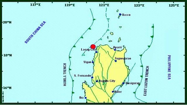 Magnitude 5.3 quake hits Ilocos