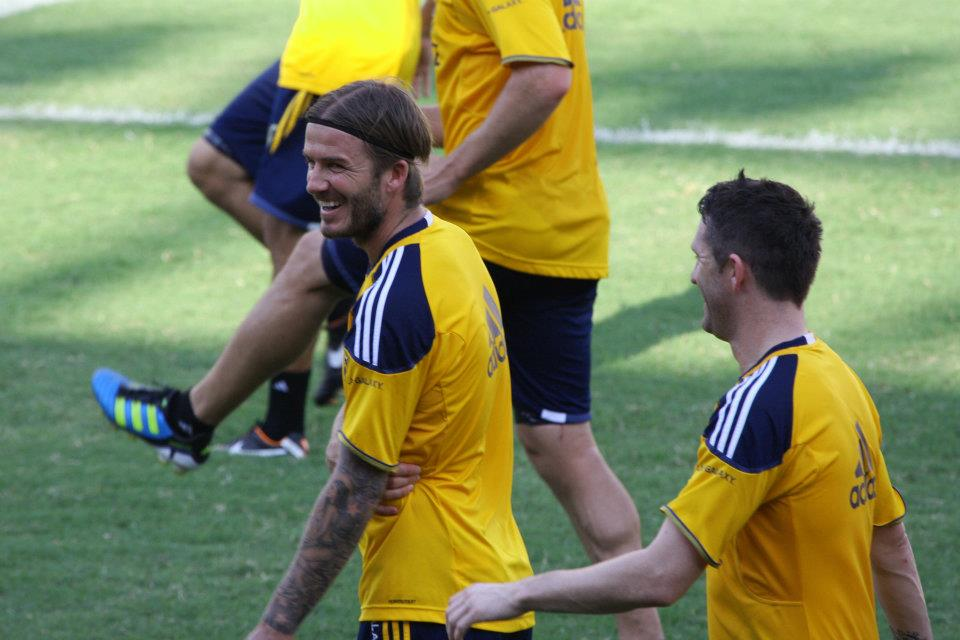 END OF THE ROAD. David Beckham will be playing his last competitive game with the LA Galaxy by the end of the year. FILE PHOTO by Rappler.
