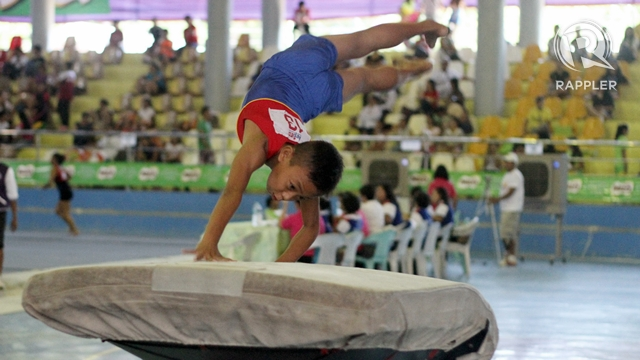 GYMNASTICS. Photo by Rappler/Kevin dela Cruz.
