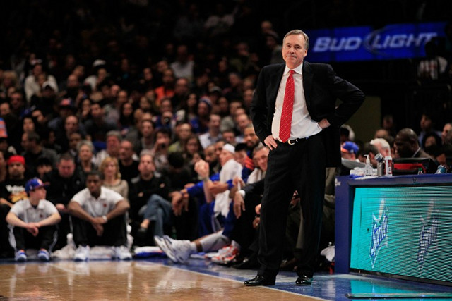 MIKE D'ANTONI. File photo by Chris Trotman/Getty Images/AFP