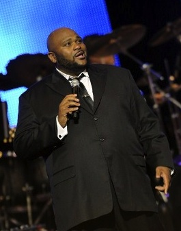 Ruben Studdard attends 43rd Annual GMA Dove Awards at The Fox Theatre on April 19, 2012 in Atlanta, Georgia. Rick Diamond/Getty Images for Gospel Music Association/AFP