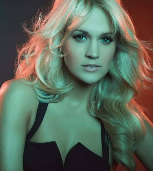 Carrie Underwood. Photo courtesy of Underwood's official page on Facebook.