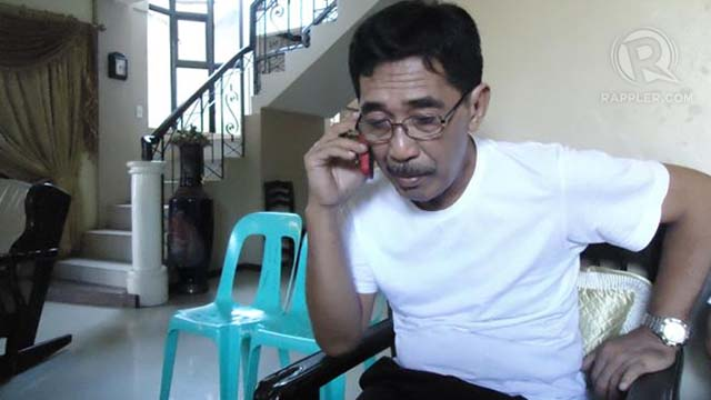 SPOKESMAN. Abraham Idjirani says followers of the Sulu Sultanate have decided to stay put in Sabah. Photo by Jerald Uy