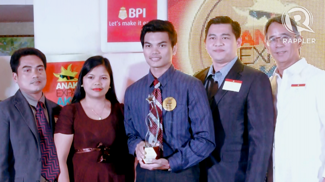 ENGINEERING DREAMS. 19-year-old Aljon Mayuga is studying Civil Engineering at the Mapua Institute of Technology.