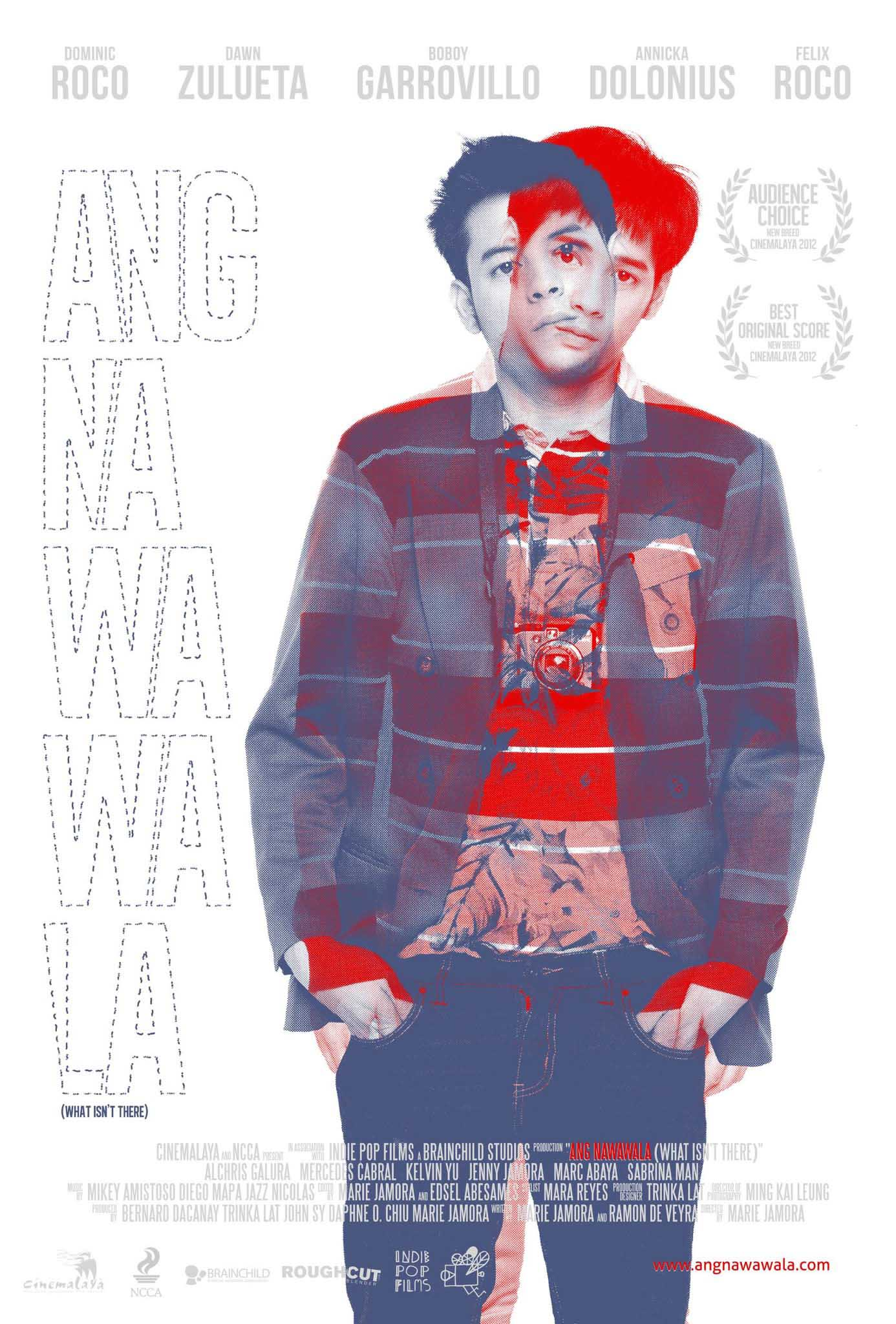 SUCH COOLNESS. Even Ang Nawawala's poster is a keeper. Photo from the movie's Facebook page.