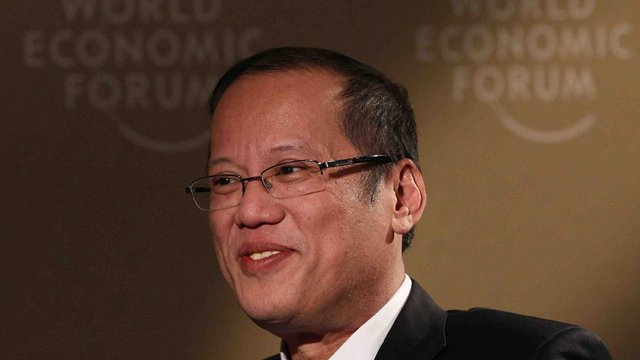 HOST. President Benigno Aquino III agrees to host the 2014 WEF East Asia Summit. Photo by Malacañang bureau