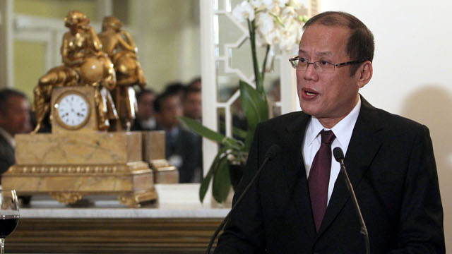 President Aquino addresses the World Economic Forum (WEF) activity Partnering Against Corruption Initiative (PACI)  Private Reception(Photo by: Benhur Arcayan / Malacaang Photo Bureau).