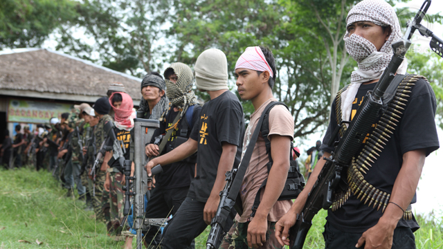 SERIOUS THREAT? A file photo of members of the breakaway Bangsamoro Islamic Freedom Fighters (BIFF).