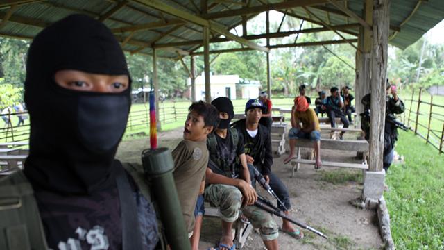 BREAKAWAY. Members of Bangsamoro Islamic Freedom Movement inside their camp in Datu Saudi, Maguindanao, on October 7, 2012. Photo by Jeoffrey Maitem