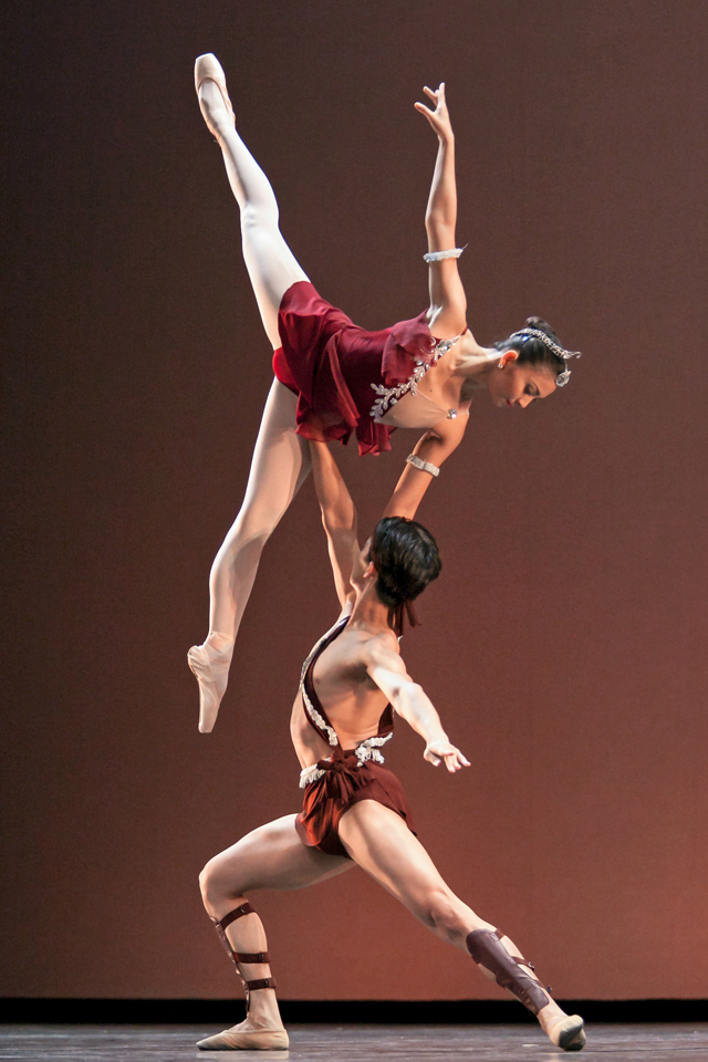 PERFECTION. Candice Adea and Jean Marc Cordero in stunning form, performing Esméralda's Grand Pas De Deux, choreographed by their mentor, Victor Ursabia. Photo by Sakari Viika / Helsinki International Ballet Competition