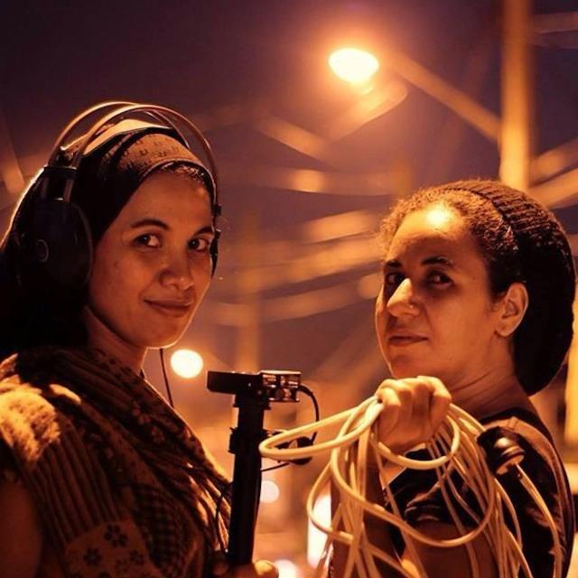 THE BANSIL SISTERS. Linda and Nadjoua Bansil. Photo courtesy of Niño Tan.