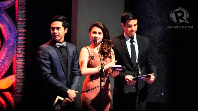 Sam Concepcion, Tippy Dos Santos, and Markki Stroem were presenters