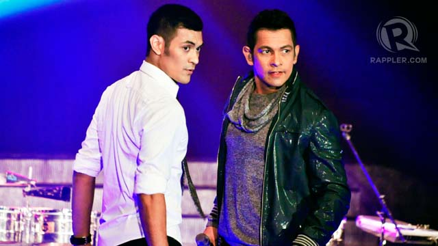 Gab and Gary Valenciano gave an electrifying performance that made everyone dance