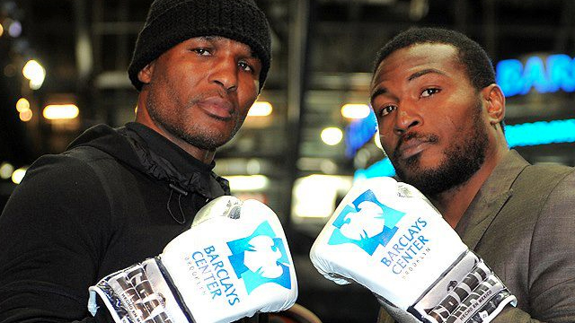 CHASING HISTORY. Bernard Hopkins (left) vies for yet another world title. Photo from Hopkins' Facebook page.