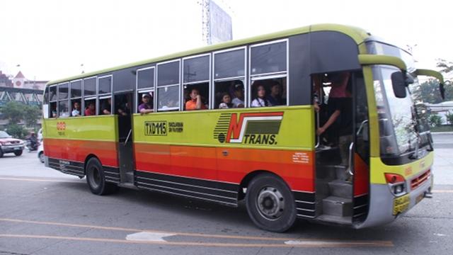 Aircon bus Northbound