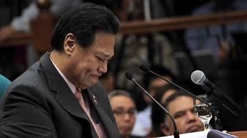 PRIVATE PERSON: Former Chief Justice Renato Corona says he can turn into a lecturer
