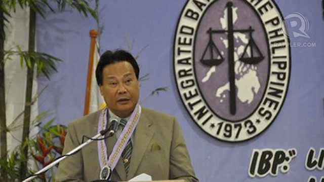 'HIS WORDS.' The prosecution is using a decision penned by Chief Justice Renato Corona to argue that he should have declared The Columns property back in 2004. File photo from the Supreme Court website.
