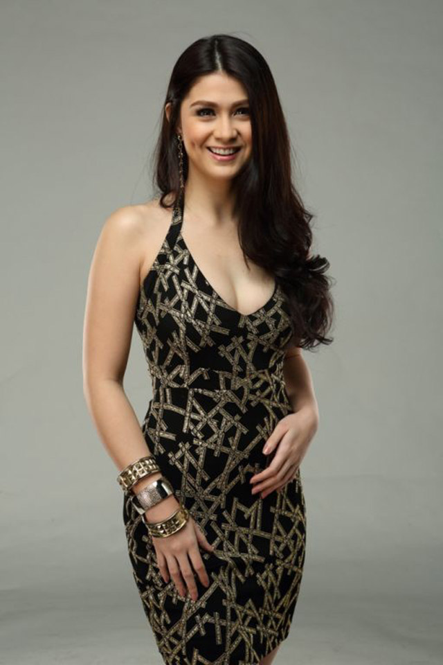 GORGEOUS YET GROUNDED. Carla Abellana looks up to celebrities who are great but still humble. Photo courtesy of GMA 7
